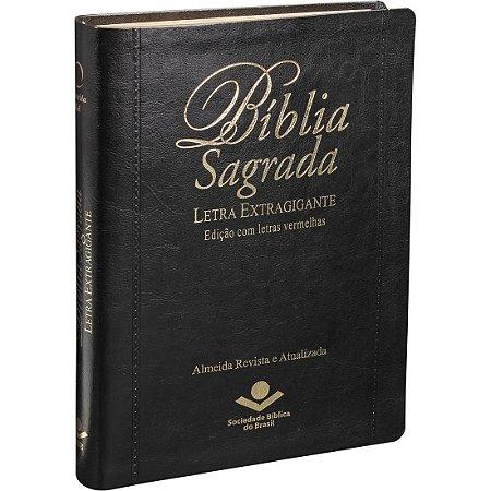 Bíblia Sagrada Letra Extragigante Preta