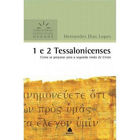 LIVRO 1 E 2 TESSALONICENSES COMENTÁRIOS EXPOSITIVOS