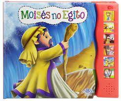 LIVRO SONORO HISTORIAS DA BIBLIA MOISES NO EGITO