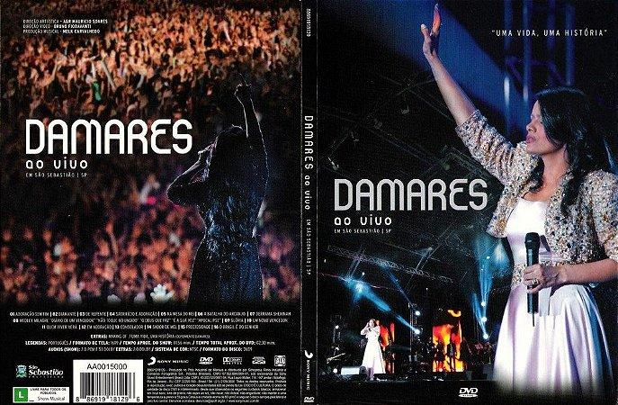 DVD DAMARES UMA VIDA UMA HISTORIA AO VIVO