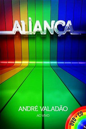 KIT DVD E CD ANDRE VALADAO ALIANCA AO VIVO