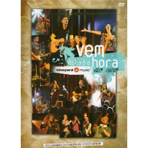 DVD VINEYARD VEM ESTA E A HORA AO VIVO