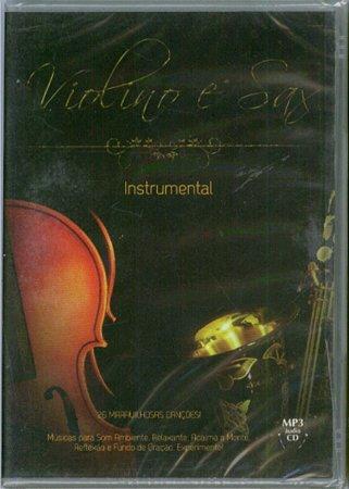 CD MP3 INSTRUMENTAL VIOLINO E SAX VOL 2