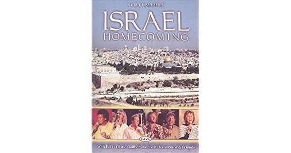 DVD GAITHER GOSPEL ISRAEL HOMECOMING