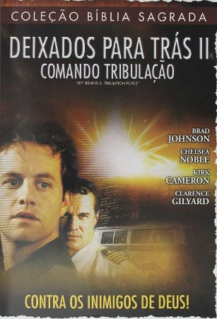 DVD DEIXADOS PARA TRAS II COMANDO TRIBULACAO