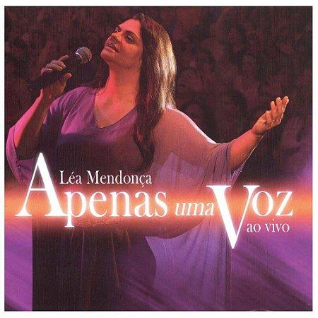 CD LEA MENDONCA APENAS UMA VOZ AO VIVO