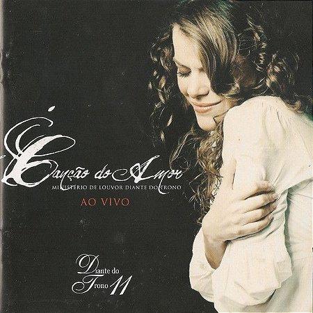 CD DIANTE DO TRONO CANCAO DO AMOR