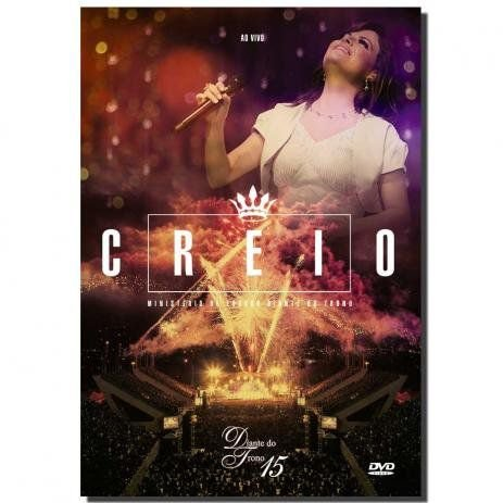 DVD DIANTE DO TRONO CREIO