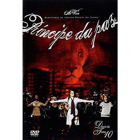 DVD DIANTE DO TRONO PRINCIPE DA PAZ