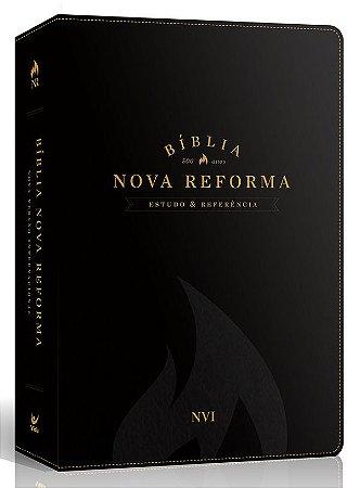 Bíblia de Estudo Nova Reforma NVI |PRETA|