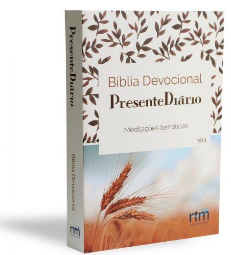 Bíblia Devocional Presente Diário| Capa Trigo|
