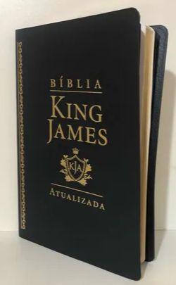 Bíblia King James Atualizada  Slim |Preta|