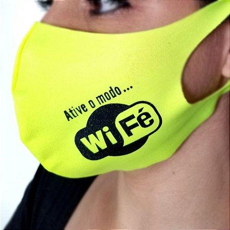 Máscara de proteção Higiênica reutilizável |Neon Wifé|
