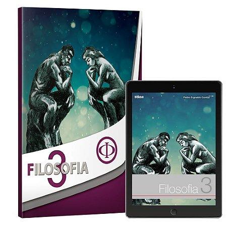 FILOSOFIA 3ª SÉRIE EM – LIVRO IMPRESSO E DIGITAL