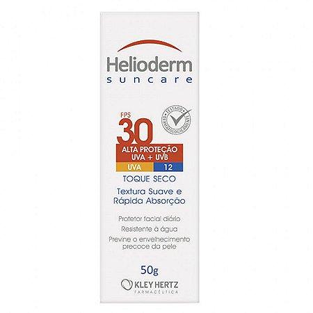 Protetor Solar Facial Helioderm Suncare FPS30 com 50g