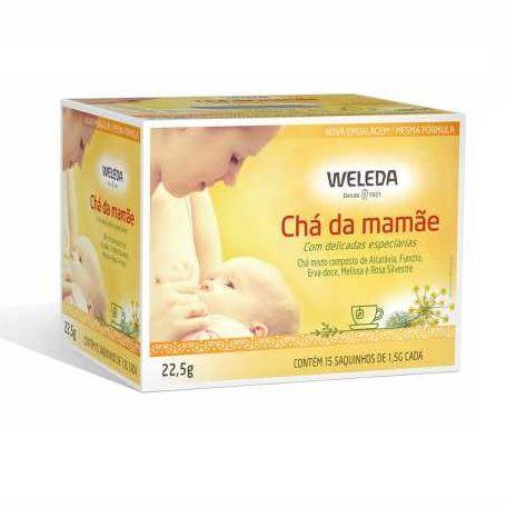 Chá Misto da Mamãe Weleda 15 saquinhos de 1,5g