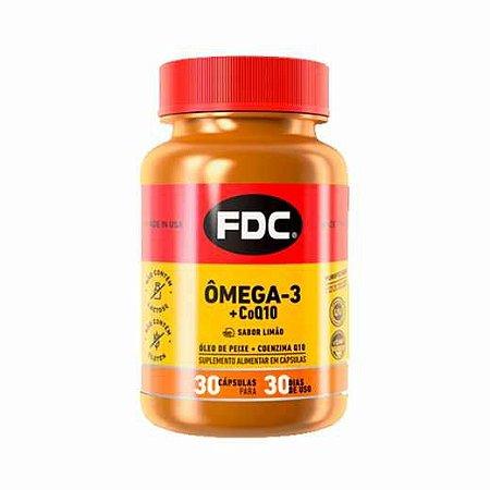 Ômega 3 + Coq10 FDC 30 cápsulas