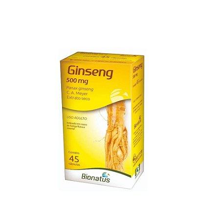 Ginseng com 45 Cápsulas Bionatus