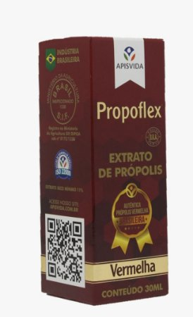 Propoflex Vermelha Extrato de Própolis com 30mL