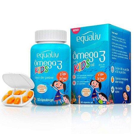 Ômega 3 Pro Kids Equaliv 60 Capsulas