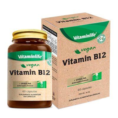 Vitamin B12 Vegan Vitaminlife 60 Cápsulas