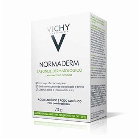 Sabonete Facial Normaderm Vichy 70g