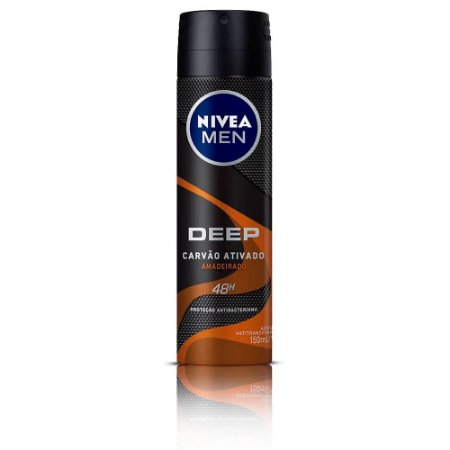 Desodorante Aerosol Nivea Men Deep Amadeirado 150ml