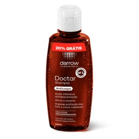 Shampoo Anticaspa Darrow Doctar 140ml