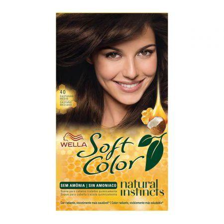 Coloração Wella Soft Color Nº40 Castanho Médio