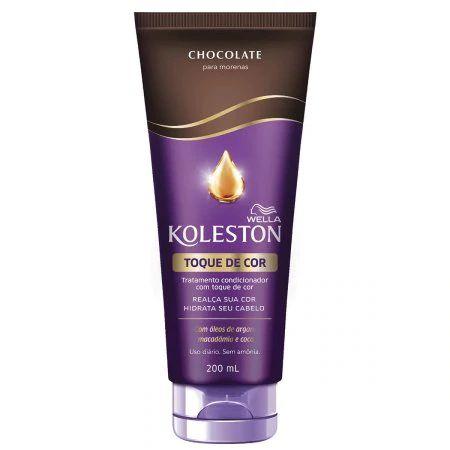 Tratamento Condicionador Koleston com Toque de Cor Chocolate