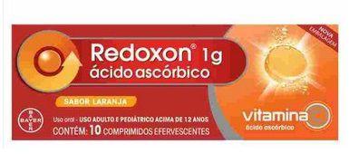 Redoxon 1g Laranja 10 Comprimidos Efervescentes