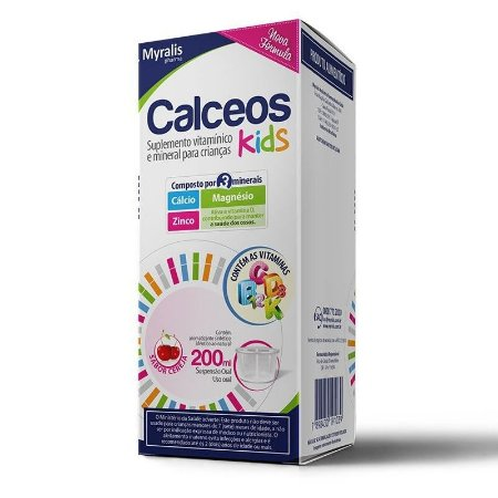 Calceos Kids Suspensão Oral 200ml