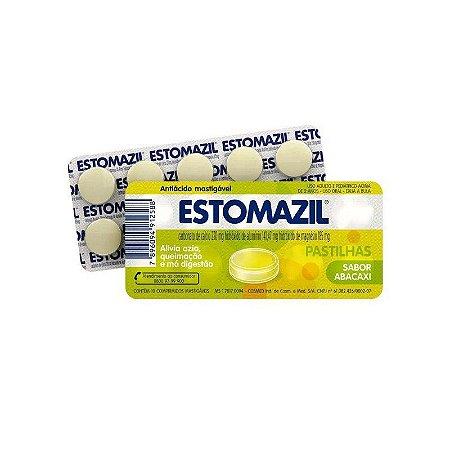 Estomazil Abacaxi 10 Comprimidos Mastigáveis