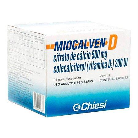 Miocalven D Pó 500mg 60 Sachês