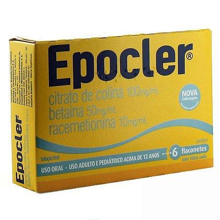 Epocler Abacaxi Flaconete 6 Unidades de 10ml