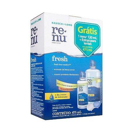 Renu Fresh Pack-on 355ml + 120ml + Estojo para Lentes