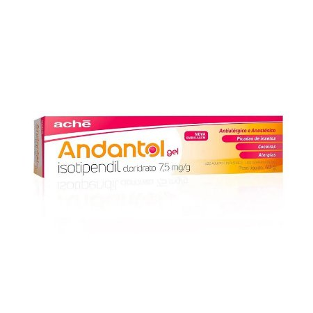 Andantol Gel 40g