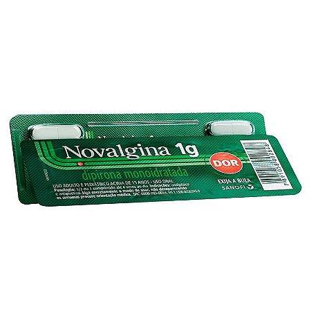 Novalgina 1g 4 Comprimidos