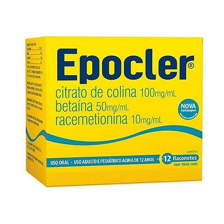Epocler Abacaxi Caixa 12 Flaconetes de 10ml