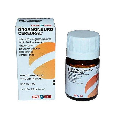 Organoneuro Cerebral 25 Comprimidos