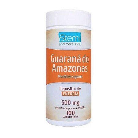 Guaraná do Amazonas 500mg 100 Comprimidos Stem