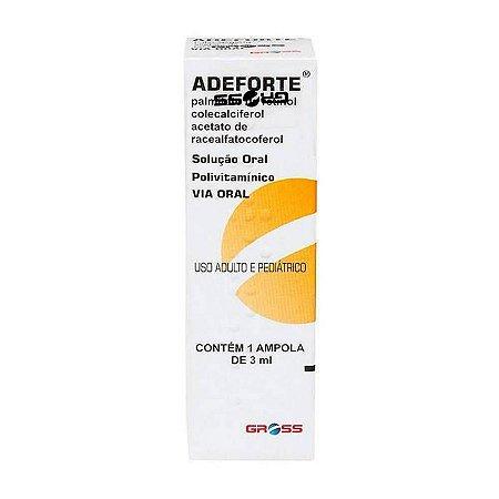 Adeforte Oral 1 Ampola de 3ml