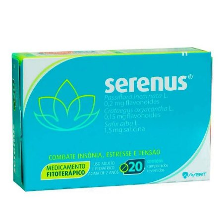 Serenus 20 Comprimidos