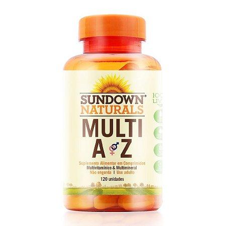 Multi A-Z Sundown 120 Comprimidos