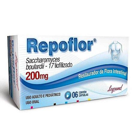Repoflor 200mg 6 Cápsulas