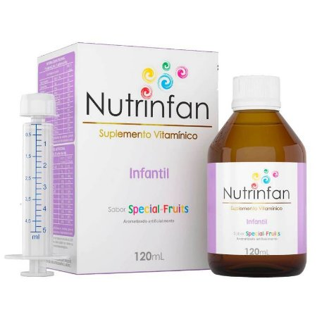 Nutrinfan Infantil Sabor Frutas Especiais 120ml
