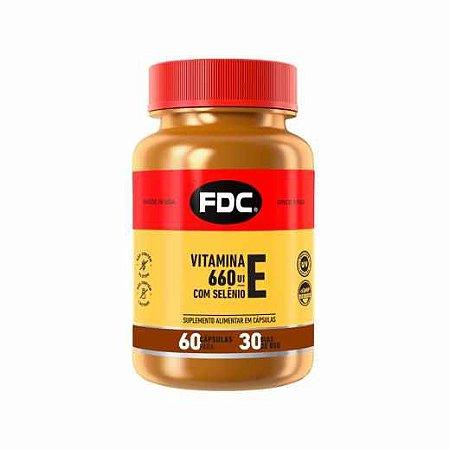 Vitamina E 660IU +Selenium 60 Cápsulas FDC