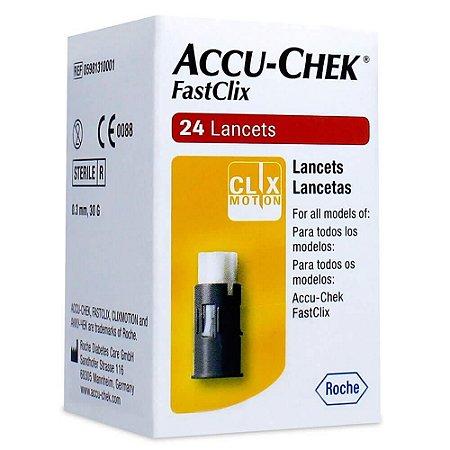 Accu-Chek FastClix c/24 Lancetas