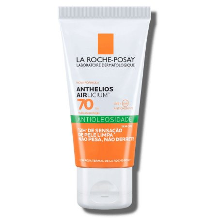 Protetor Solar Facial Antioleosidade La Roche-Posay Anthelios Airlicium FPS 70 com 50g