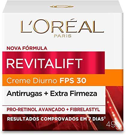 Creme Antirrugas L'oréal Revitalift Diurno FPS30 49g